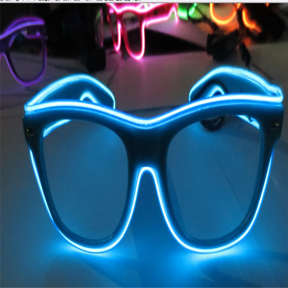 El Wire Plastic Diffraction Glasses For Wedding Night Club Used ...